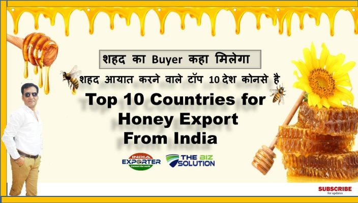 Top 10 Buyer Country for Natural Honey Export From India | Export Import
