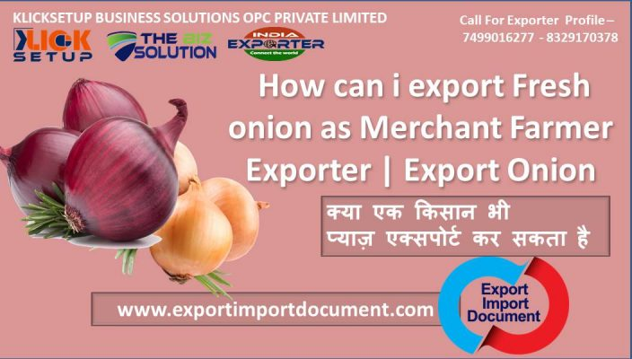 How can i export Fresh onion as Merchant Farmer Exporter | Export Onion