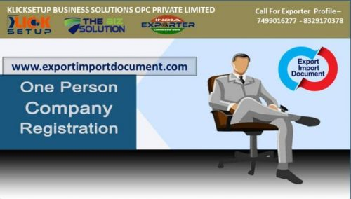 OPC Company Registration Process | Incorporation Fee | Document | Price