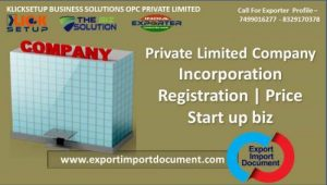 Private Limited Company |Incorporation | Registration | Price Start up biz