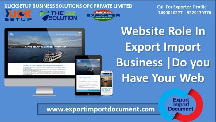 Importance Of Website in Export Import Business |Export Import Document