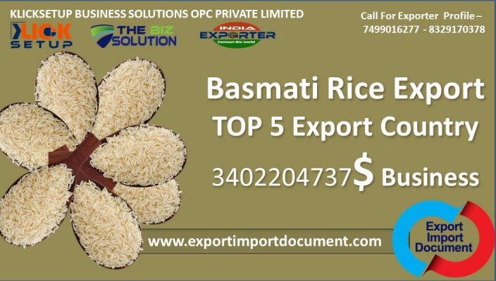 Indian Basmati Rice Export | Top 5 Export Buyer Country