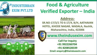Food & Agriculture Exporter Verified seller from India-theindusexim.com