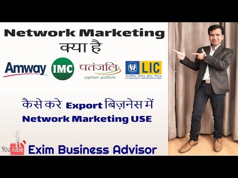 Learn Network Marketing for Export Business find export buyer