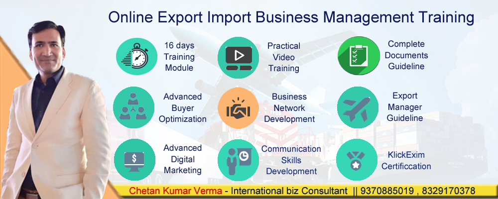 Best Import Export Business Training in India