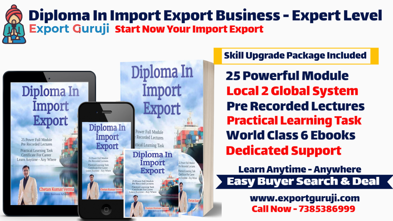 Diploma In Import Export Business Training Online Practical Class